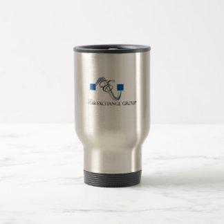 Logotipo logotipo-principal del intercambio de la  tazas de café