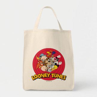 Logotipo Looney del carácter de los tonos Bolsa Tela Para La Compra