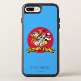 Logotipo Looney del carácter de los tonos Funda OtterBox Symmetry Para iPhone 7 Plus