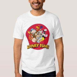 Logotipo Looney del carácter de los tonos Playera