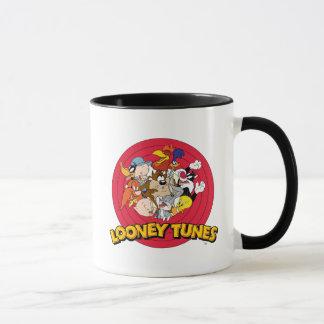 Logotipo Looney del carácter de los tonos Taza