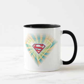 Logotipo maravilloso de Supergirl Taza