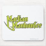 Logotipo marciano de Manhunter Alfombrillas De Ratones
