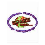 Logotipo Merch de SpazzRadio Postales