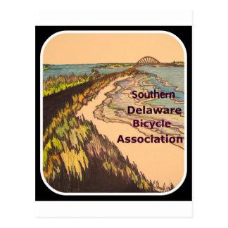 Logotipo meridional de la asociación de la tarjetas postales
