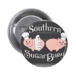 Logotipo meridional del bebé del azúcar pin