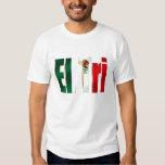 Logotipo mexicano del orgullo del tri México Playeras
