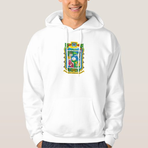Logotipo mexicano oficial de la heráldica de sudadera