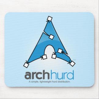 Logotipo Mousemat de Hurd del arco Tapetes De Ratones