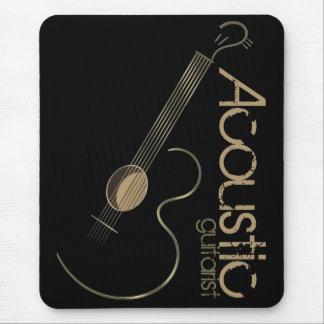 Logotipo Mousepad de la guitarra acústica