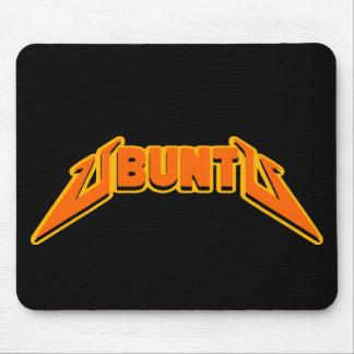 Logotipo Mousepad de la parodia de la roca de Ubun