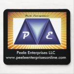 Logotipo Mousepad de las empresas de Peele Alfombrilla De Ratón