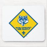 Logotipo Mousepad de los Cub Scout Alfombrilla De Ratón