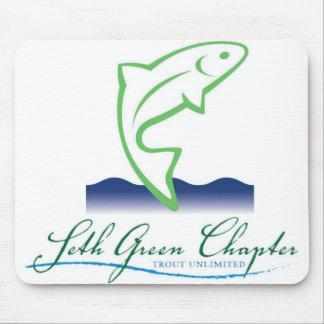 Logotipo Mousepad del capítulo de Seth Green Tapetes De Ratones