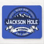 Logotipo Mousepad del color de Jackson Hole