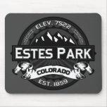 Logotipo Mousepad del color del parque de Estes Tapetes De Ratón