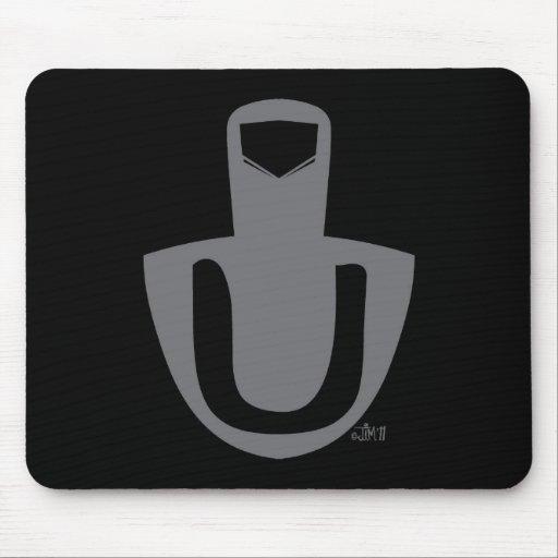 Logotipo Mousepad del dedo medio de Germana
