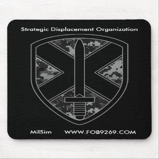 Logotipo Mousepad del equipo de SDO MilSim