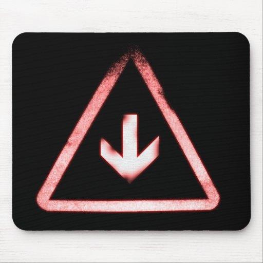 Logotipo Mousepad del triángulo