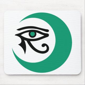 Logotipo Mousepad jade de LunaSees ojo del jade Tapetes De Raton