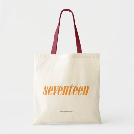 Logotipo-Naranja diecisiete Bolsa Tela Barata