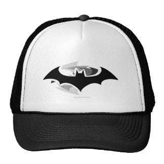 Logotipo negro de la sombra del símbolo el | de gorras de camionero