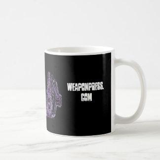 logotipo-negro de weaponpress.com tazas de café