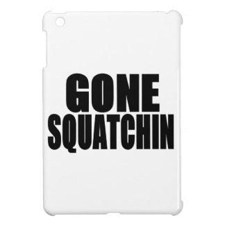 Logotipo negro ido de Squatchin iPad Mini Protector
