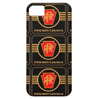 Logotipo, negro y oro del ferrocarril de funda para iPhone 5 barely there