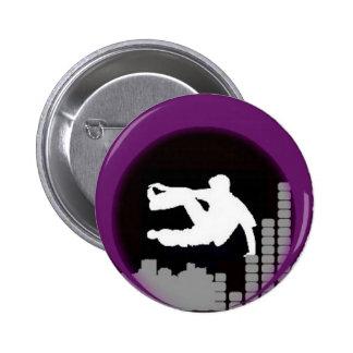 Logotipo ninguna BG Pin Redondo 5 Cm