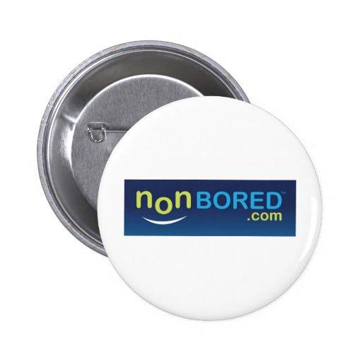 Logotipo nonBored azul Pins