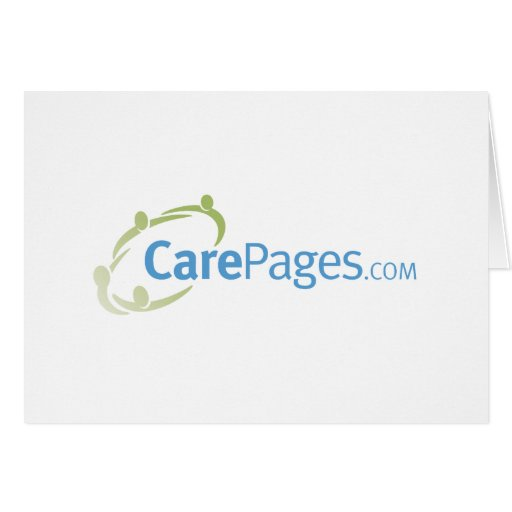 Logotipo Notecards - personalizable de CarePages Tarjetas