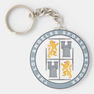 Logotipo oficial #1 de TLASN Llavero Redondo Tipo Pin