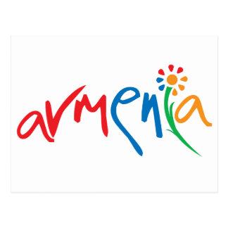 Logotipo oficial armenio postal