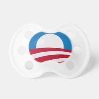 Logotipo oficial de la campaña de Obama Chupetes De Bebé