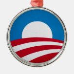 Logotipo oficial de la campaña de Obama Adorno De Reyes