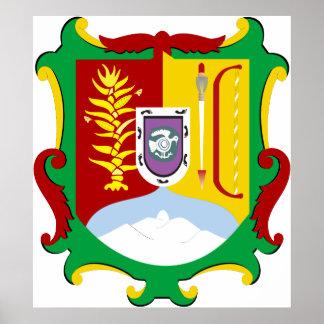 Logotipo oficial de la heráldica de Nayarit México Impresiones