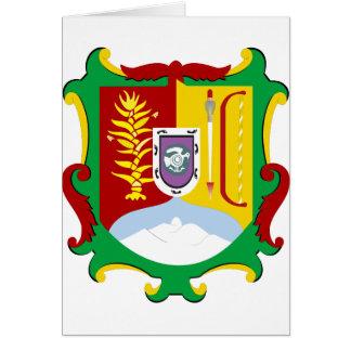 Logotipo oficial de la heráldica de Nayarit México Tarjeton