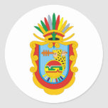 Logotipo oficial del símbolo de Guerrero México Pegatina Redonda