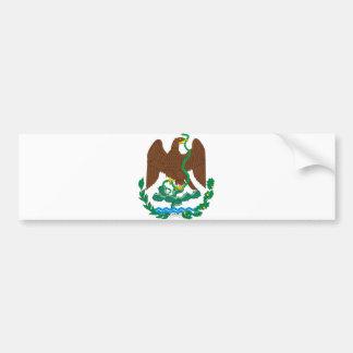 Logotipo oficial del símbolo de la heráldica de Mé Pegatina De Parachoque