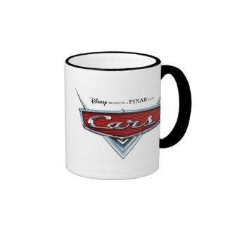 Logotipo oficial Disney de la película de los coch Tazas De Café