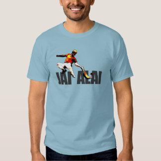 Logotipo original y destacado de Jai Alai, Playeras