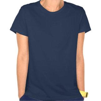 Logotipo oscuro de la camiseta ABMR Malinois de la Playera