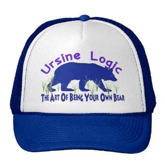 Logotipo osuno del Swag de la lógica Gorros Bordados
