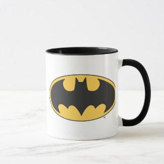 Logotipo oval del símbolo el | de Batman
