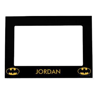 Logotipo oval del símbolo el | de Batman Marcos Magneticos De Fotos