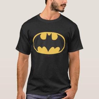 Logotipo oval del símbolo el | de Batman Playera