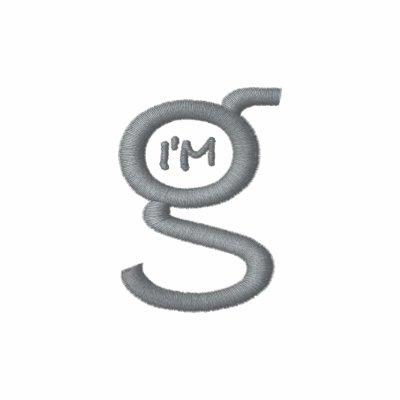 Logotipo para hombre del gris del polo w