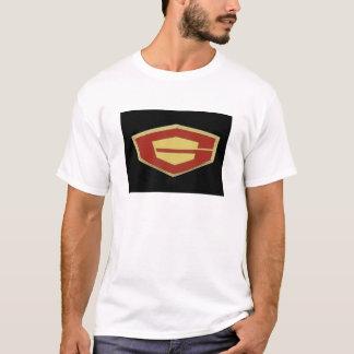Logotipo para hombre intrépido de la camiseta de