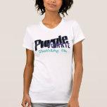 Logotipo para mujer de la marca del PJ en el tanqu Camiseta